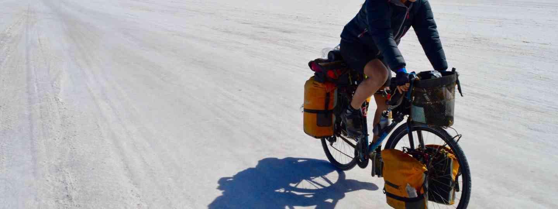 Salt flats cycling (Laura Bingham)