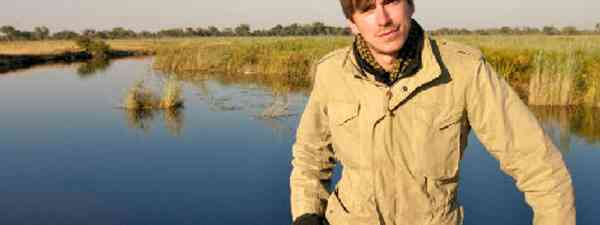Simon Reeve in Botswana