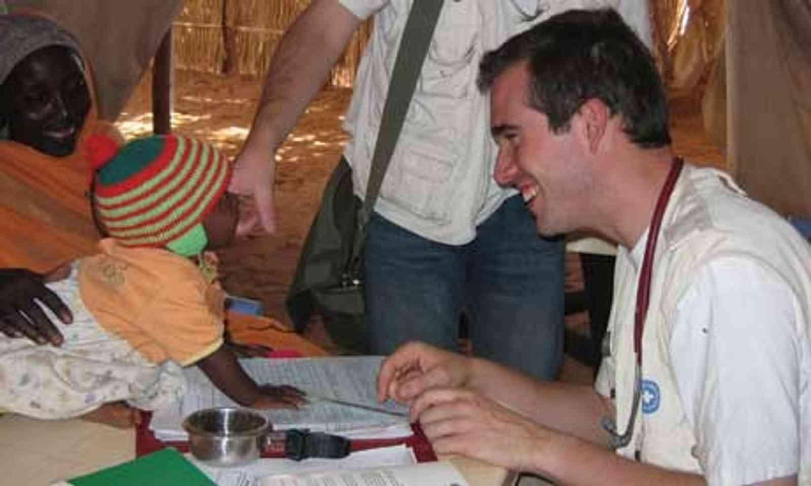 Aid worker (Wanderlust magazine)