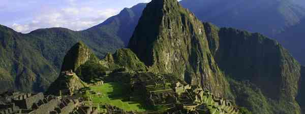 View on Machu Picchu (Prom peru)