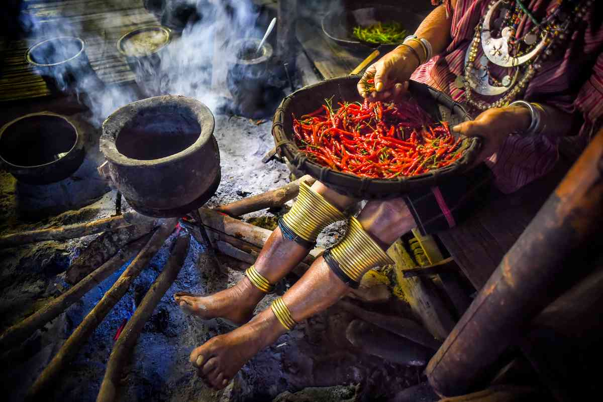 Burmese kitchen (Ko Ko Zaw)