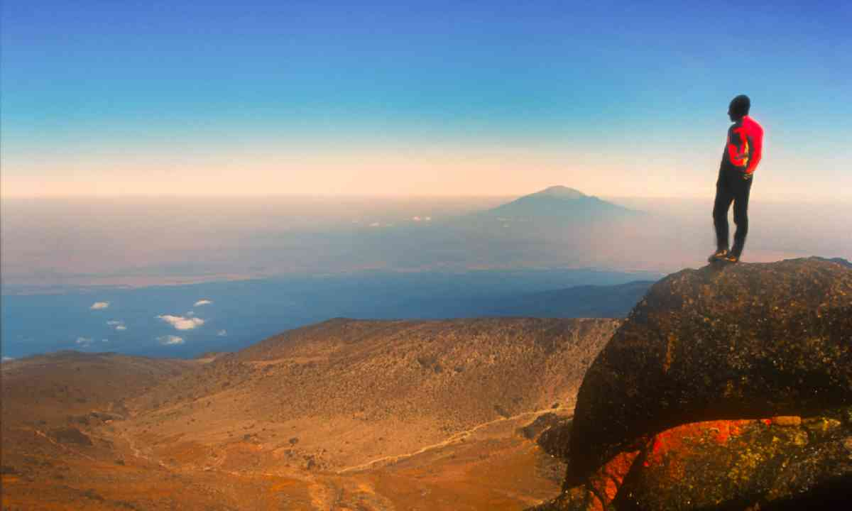 Climbing Mount Kilimanjaro (Shutterstock)