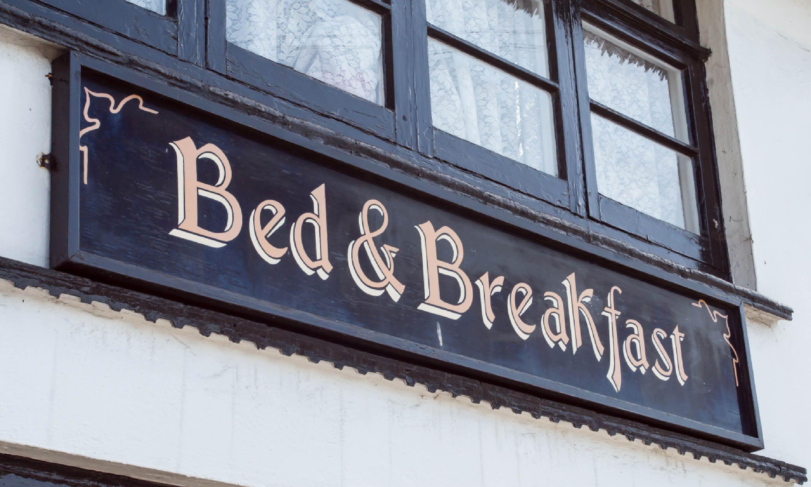 Bed & Breakfast (Dreamstime)