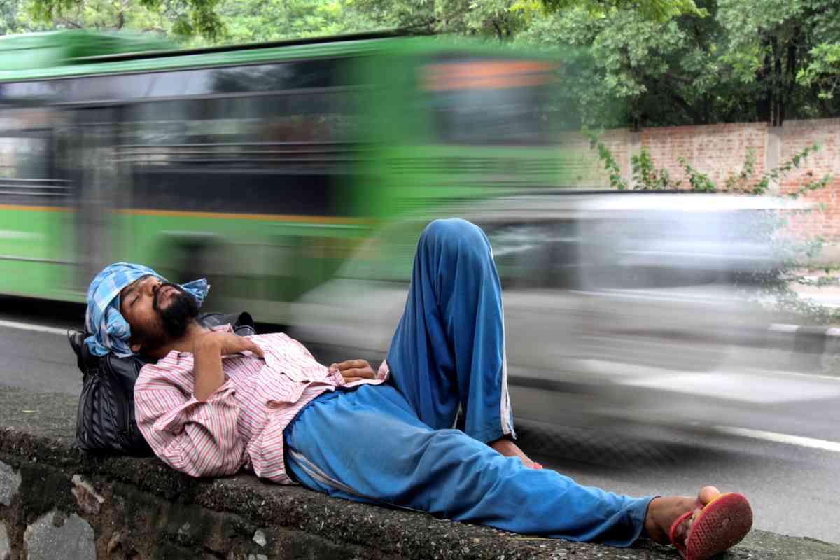 Asleep in Dehli (Shaikh Jan Mohammad)