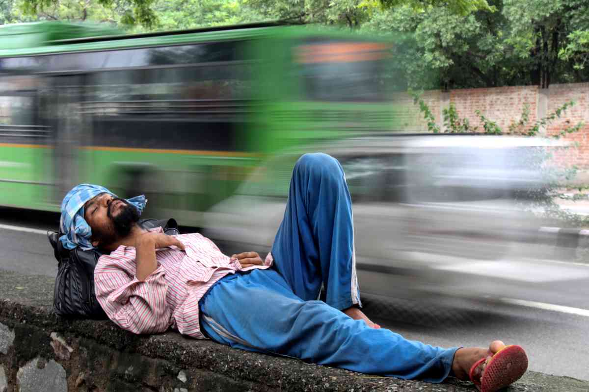 Asleep in Dehli (Shaikh Jan Mohammad)