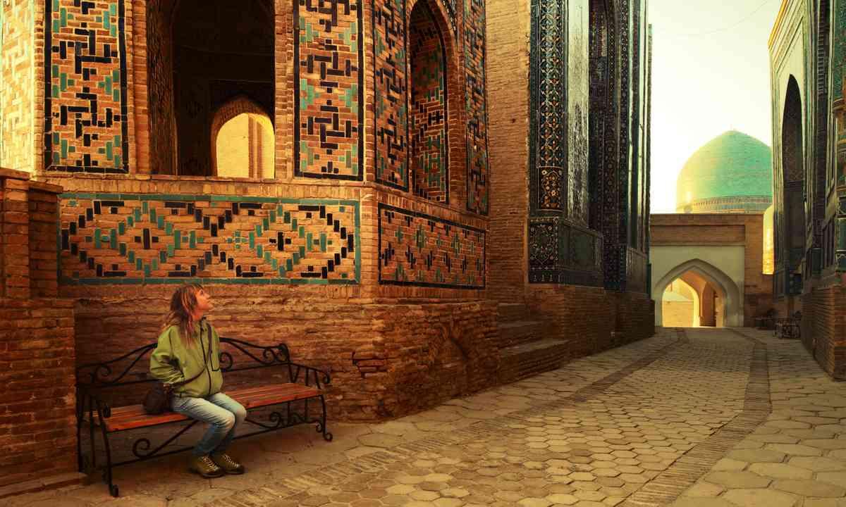 Contemplating Samarkand (Shutterstock.com)