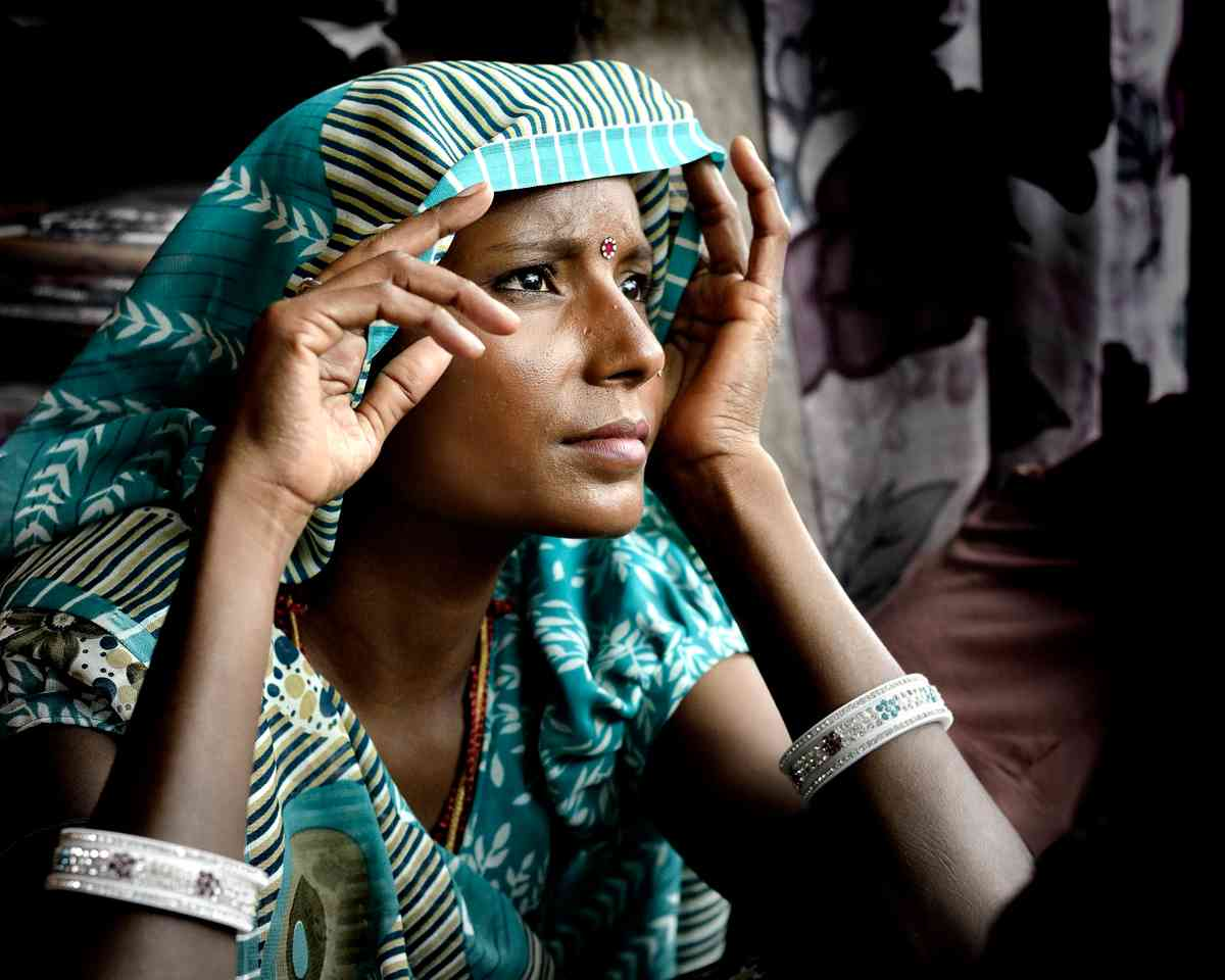 Woman in Jodhpur (Matthieu Rivart)