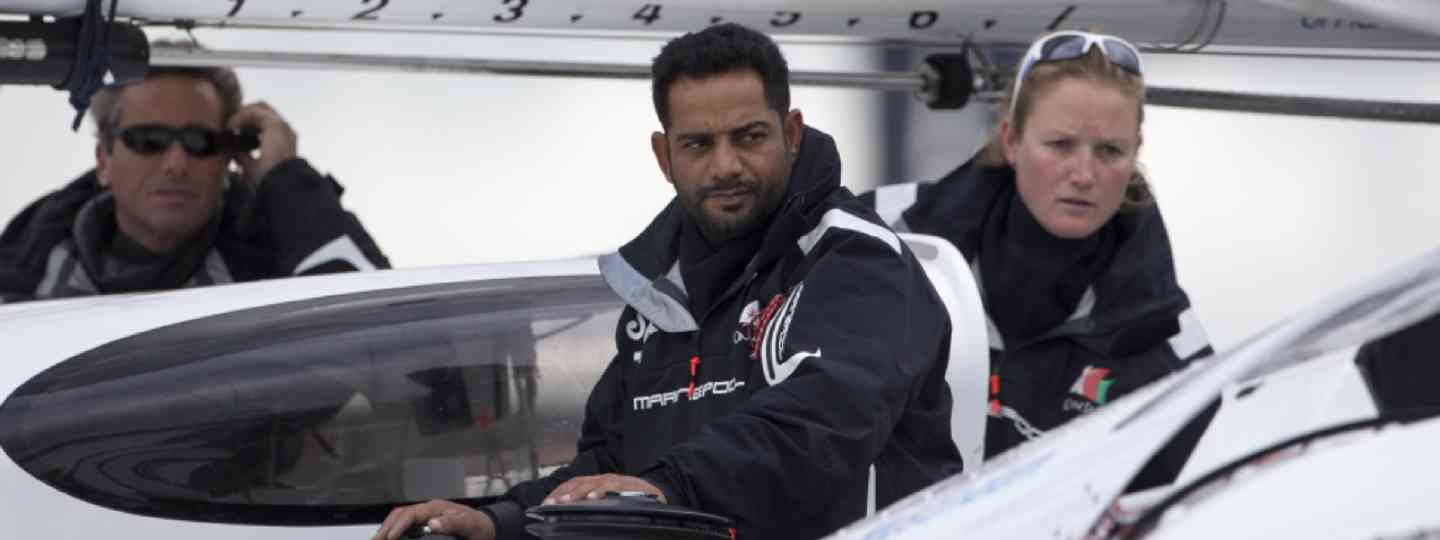 Mohsin Al Busaidi, the first Arab to sail around the world