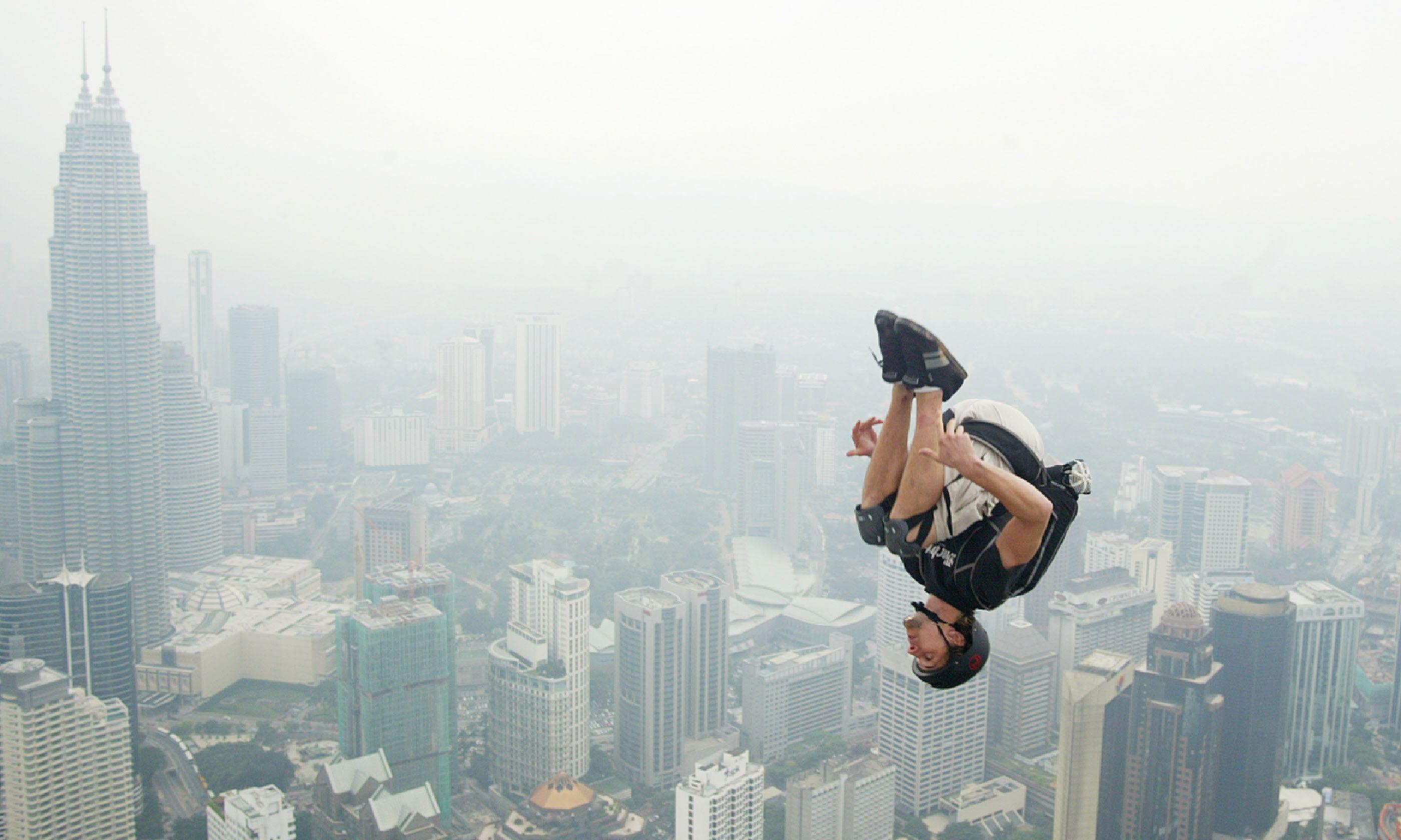 Base jump (Shutterstock)