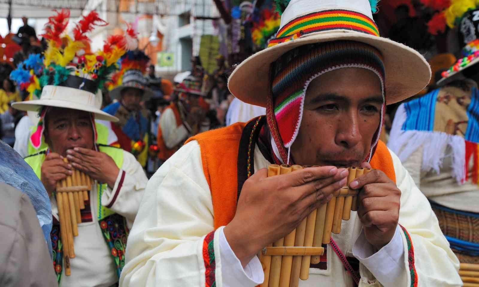 Ouro costume carnival, Potosi (Shutterstock.com)