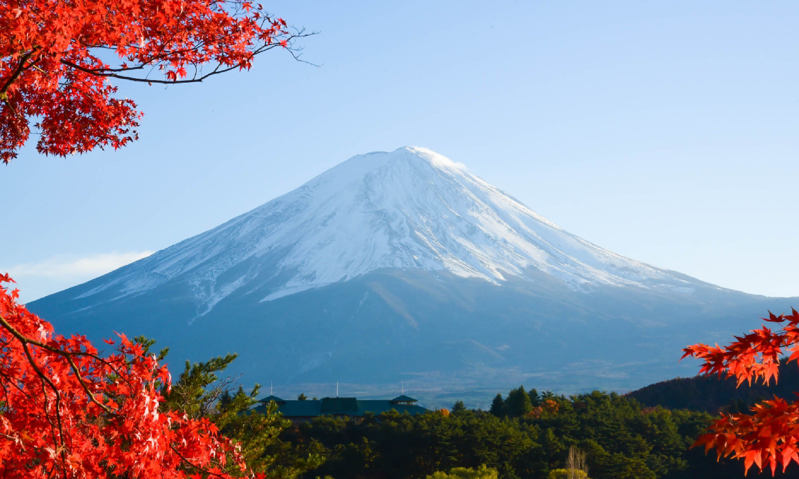 Mount Fuji in autumn (Shutterstock)