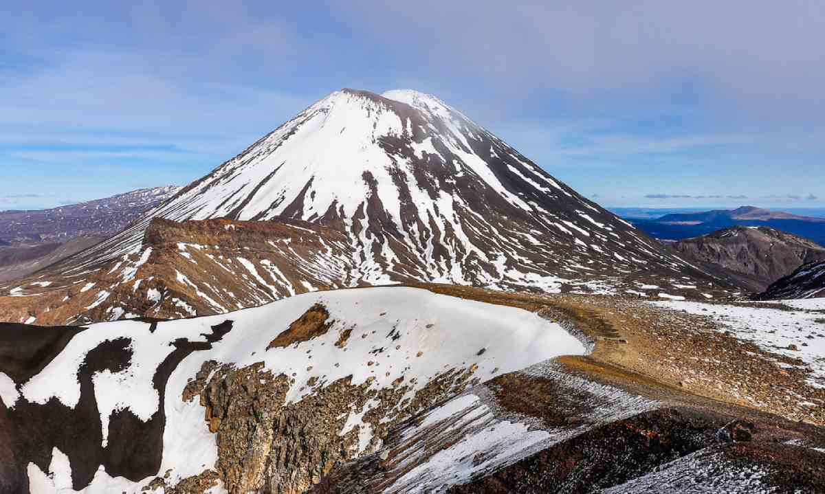 Mount Ngauruhoe, New Zealand (Shutterstock)
