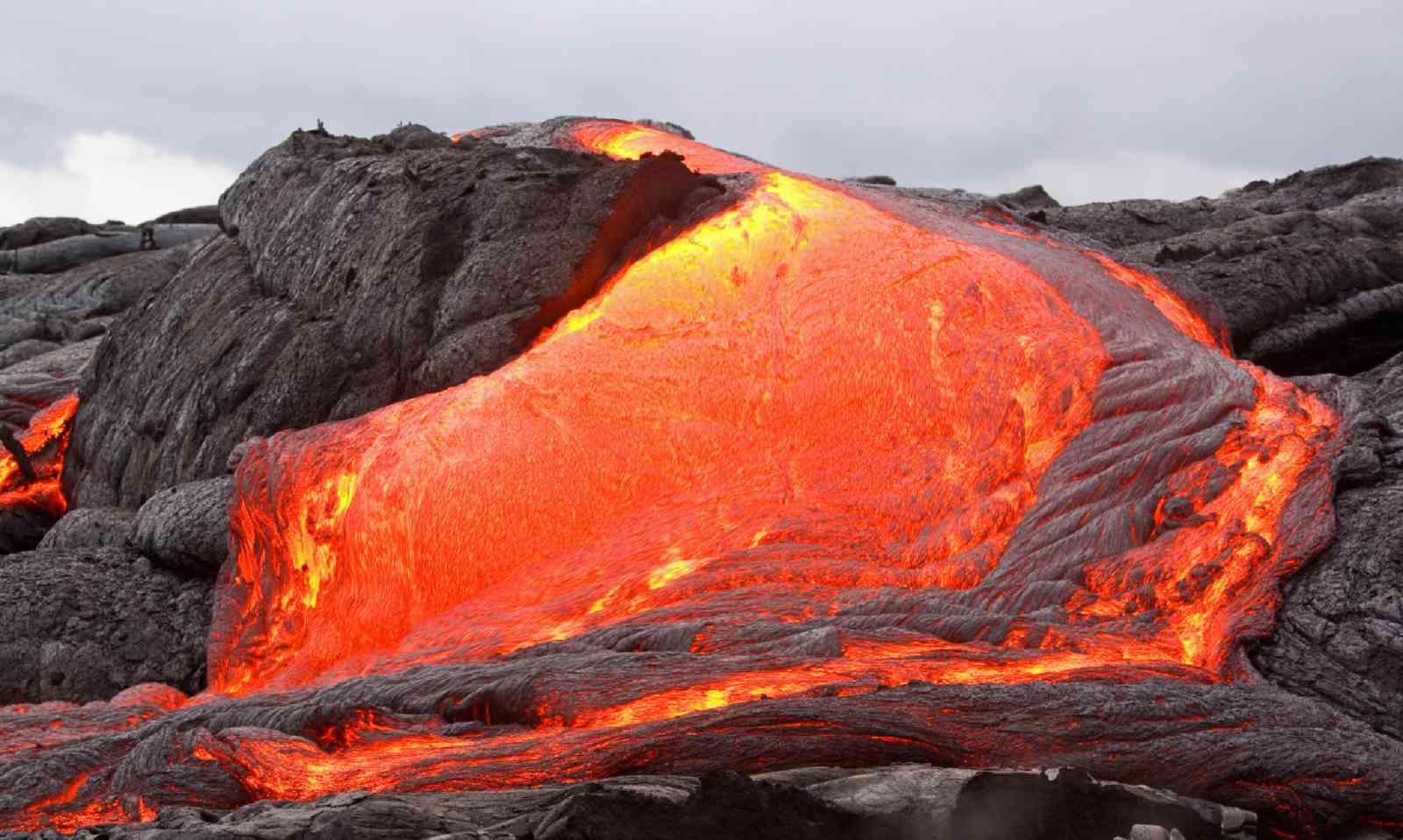 Lava flow on Kilauea (Dreamstime)