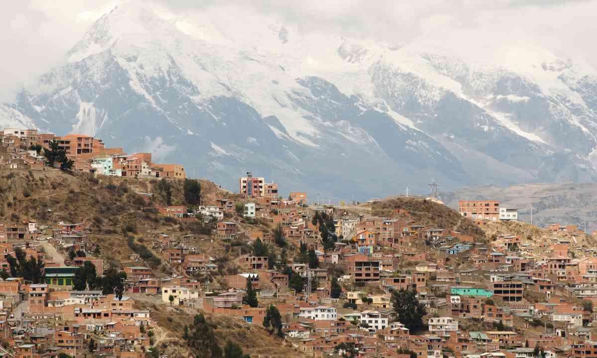 La Paz, Bolivia (Shutterstock.com)