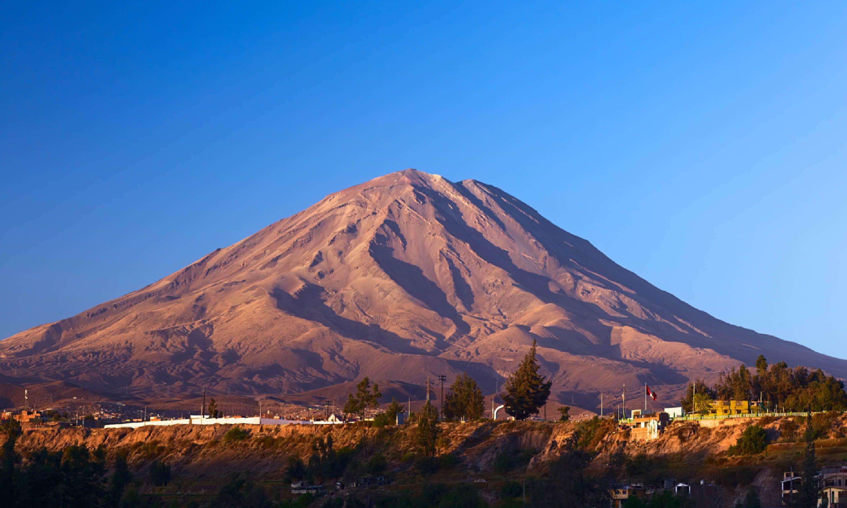 Mount Misti, Peru (Dreamstime)