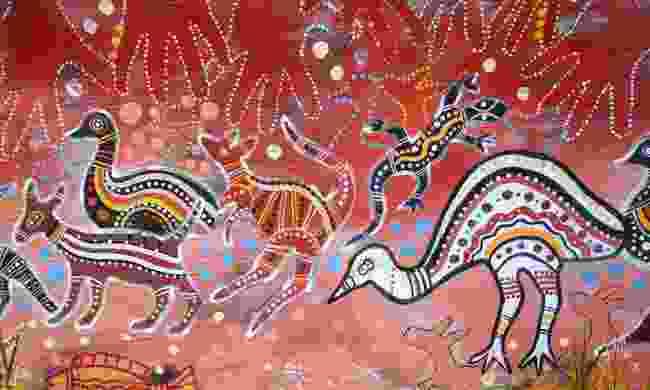 Traditional Aboriginal art (Dreamstime)