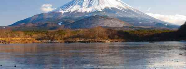 Mount Fuji reflection on Lake Shojiko (Shutterstock)