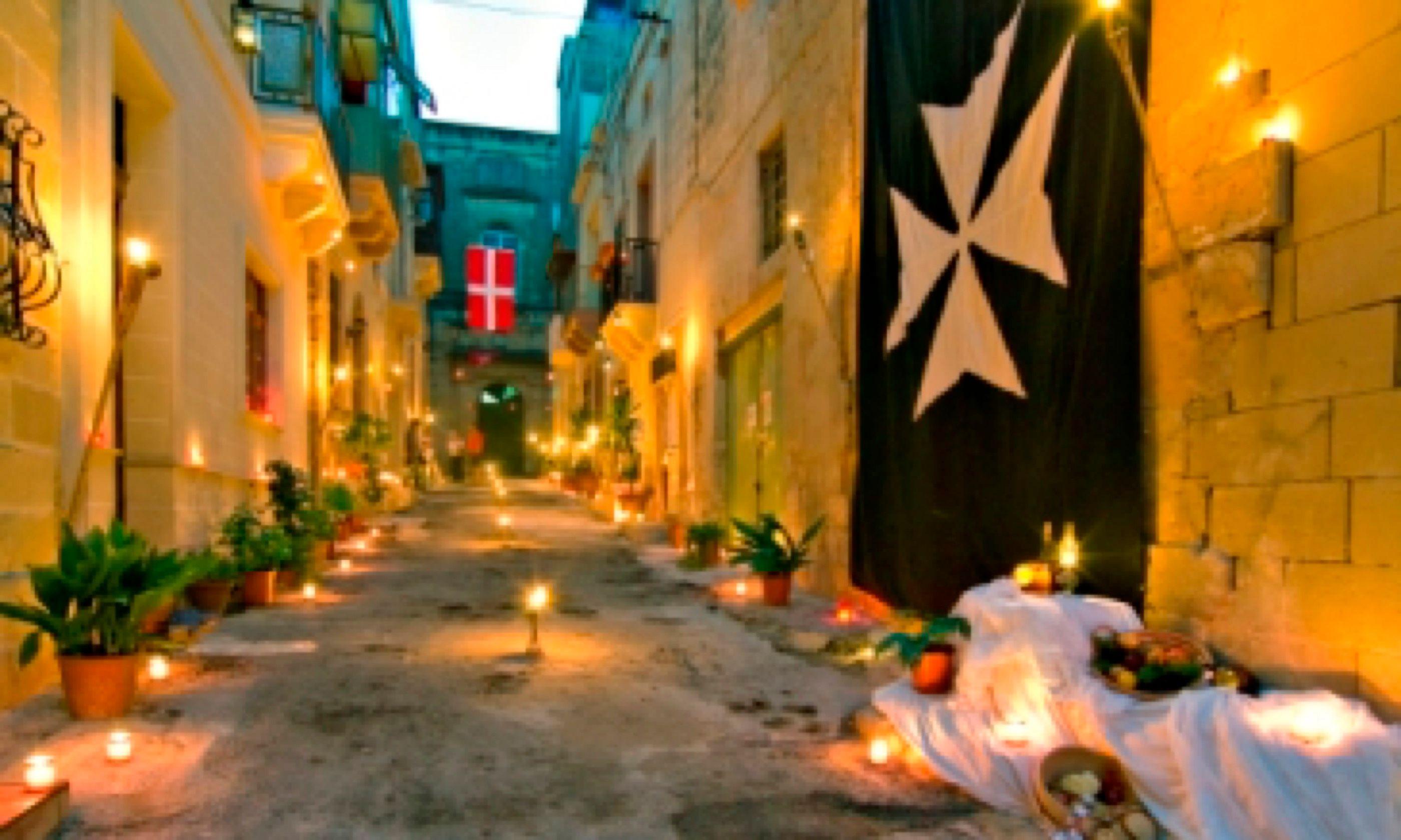 Brig by candlelight (VisitMalta.com)
