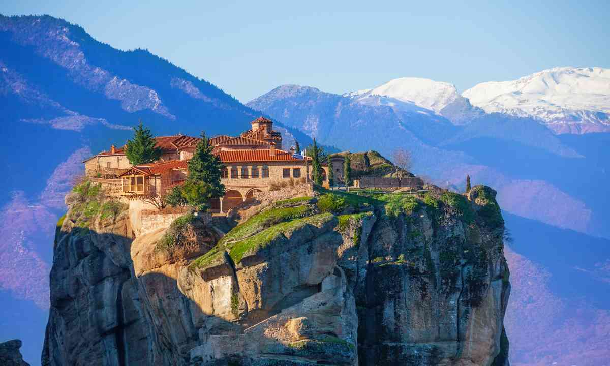 Mountain Monastery of the Holy Trinity (Shutterstock.com)