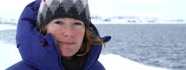 Kate Humble in the Arctic (BBC)