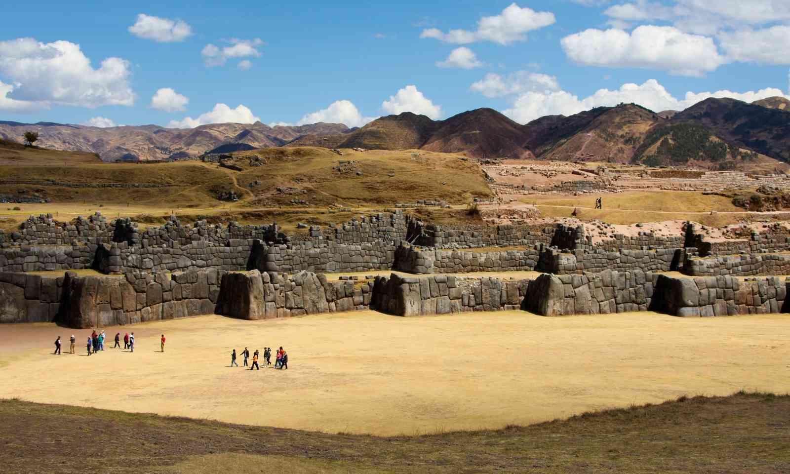 Sacsayhuaman wall near Cusco (Dreamstime)