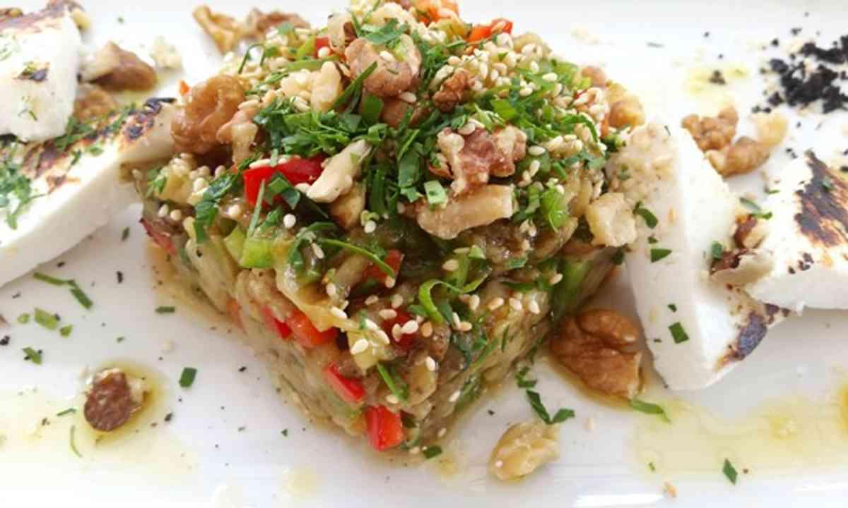 Feta Salad (Greek Tourist Board)