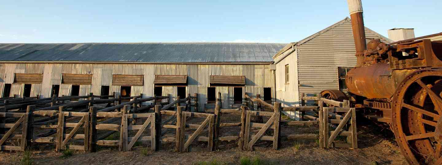 Historic Wool Shed, Kinchega National Park, Menindee (Broken Hill City Council)