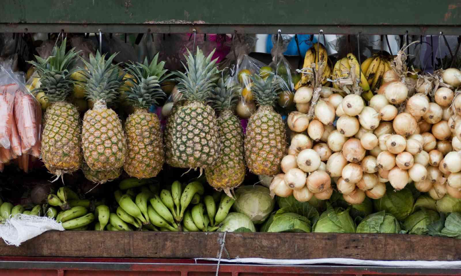 Fruit market in San Jose (Shutterstock)