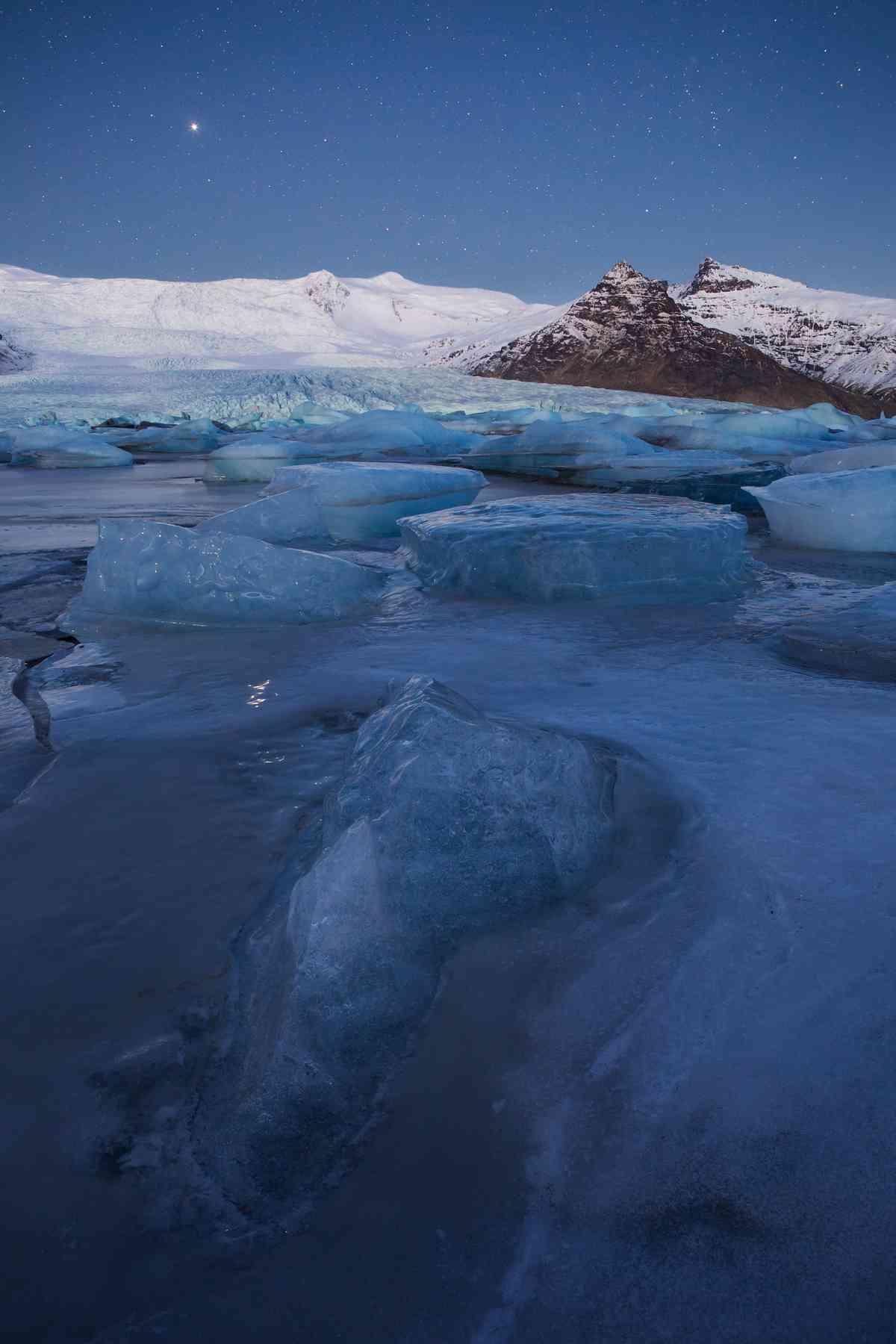 Vatnajökull National Park, Iceland (Esen Tunar)