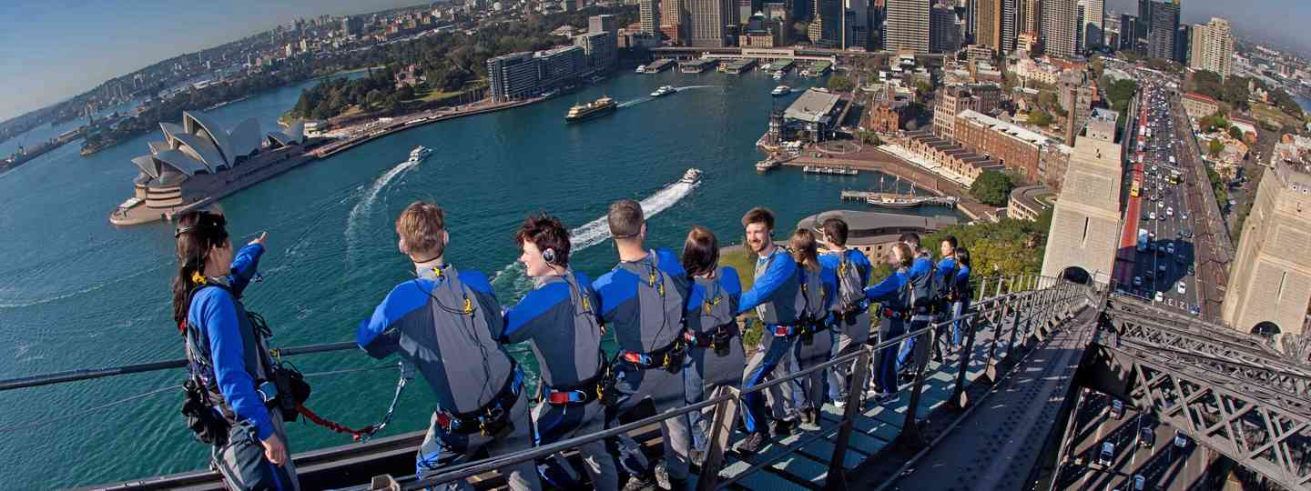 Climbing the Sydney Harbour Bridge (bridgeclimb.com)