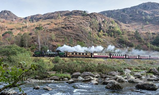 The Welsh Highland Railway (Shutterstock.com)