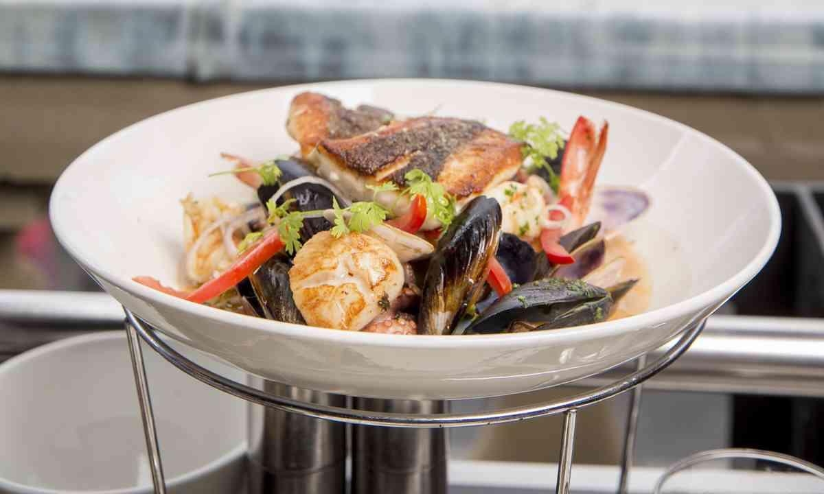 Seafood dish at Cafe Sydney, Circular Quay (Brett Hemmings/Destination NSW)