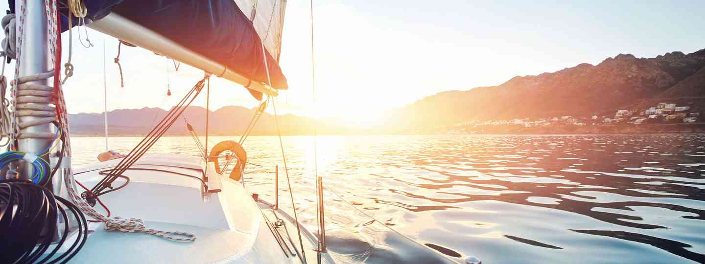 Sunrise on a yacht (Shutterstock.com. See main credit below)