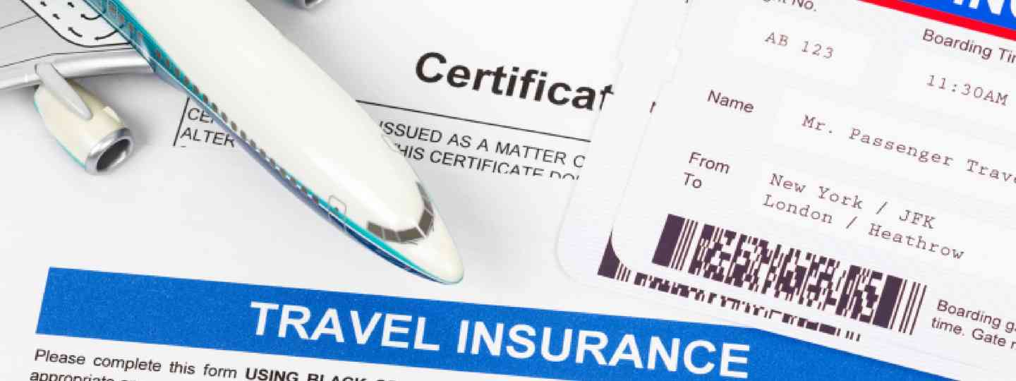 Travel insurance application form (Shutterstock: see below)