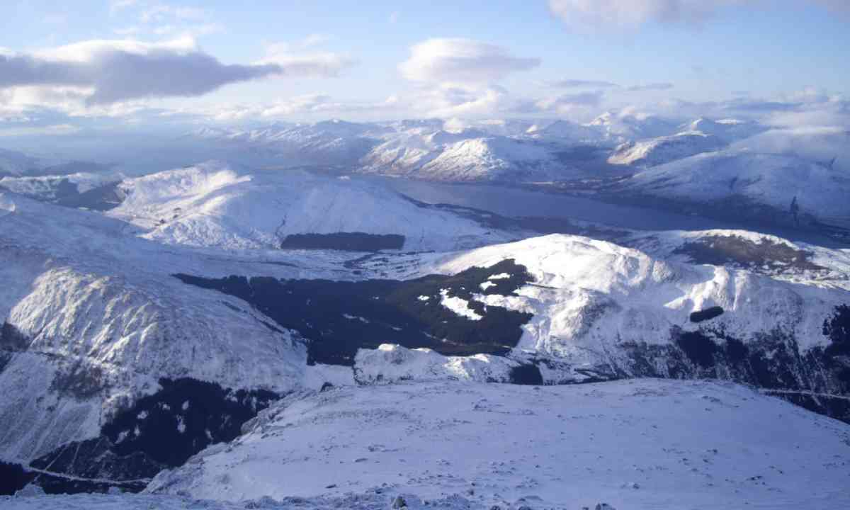 The view from Ben Nevis (Alex Kendall)