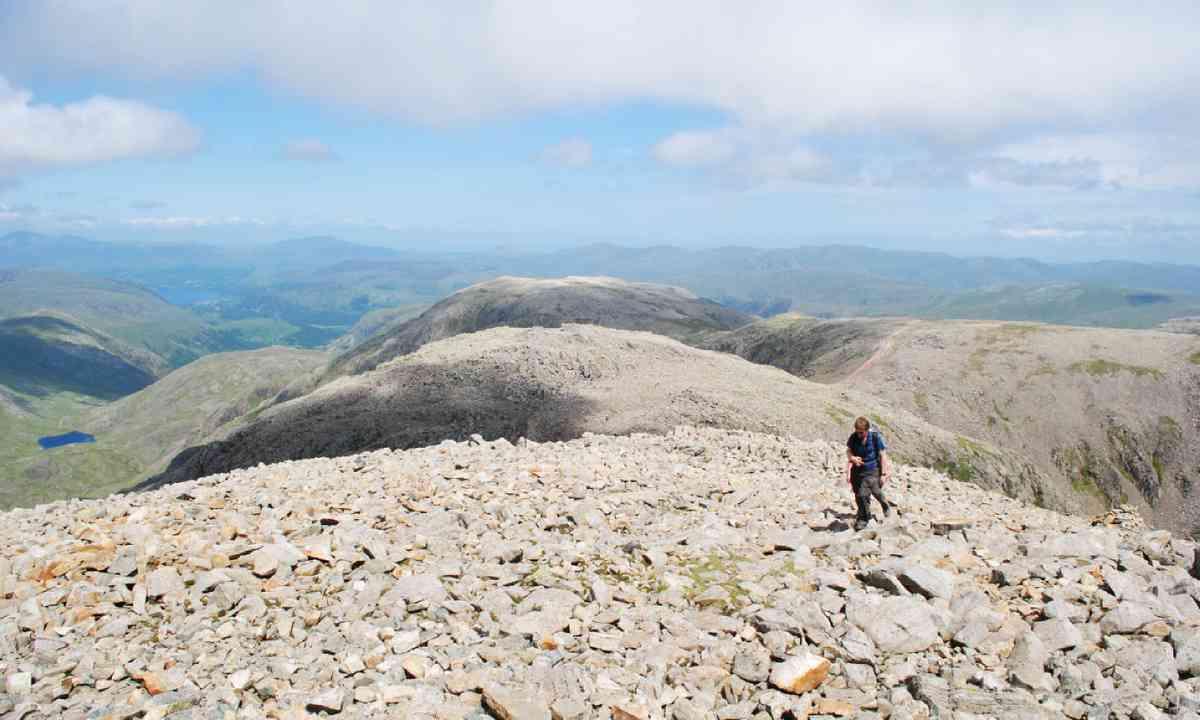 Scafell Pike summit (Alex Kendall)
