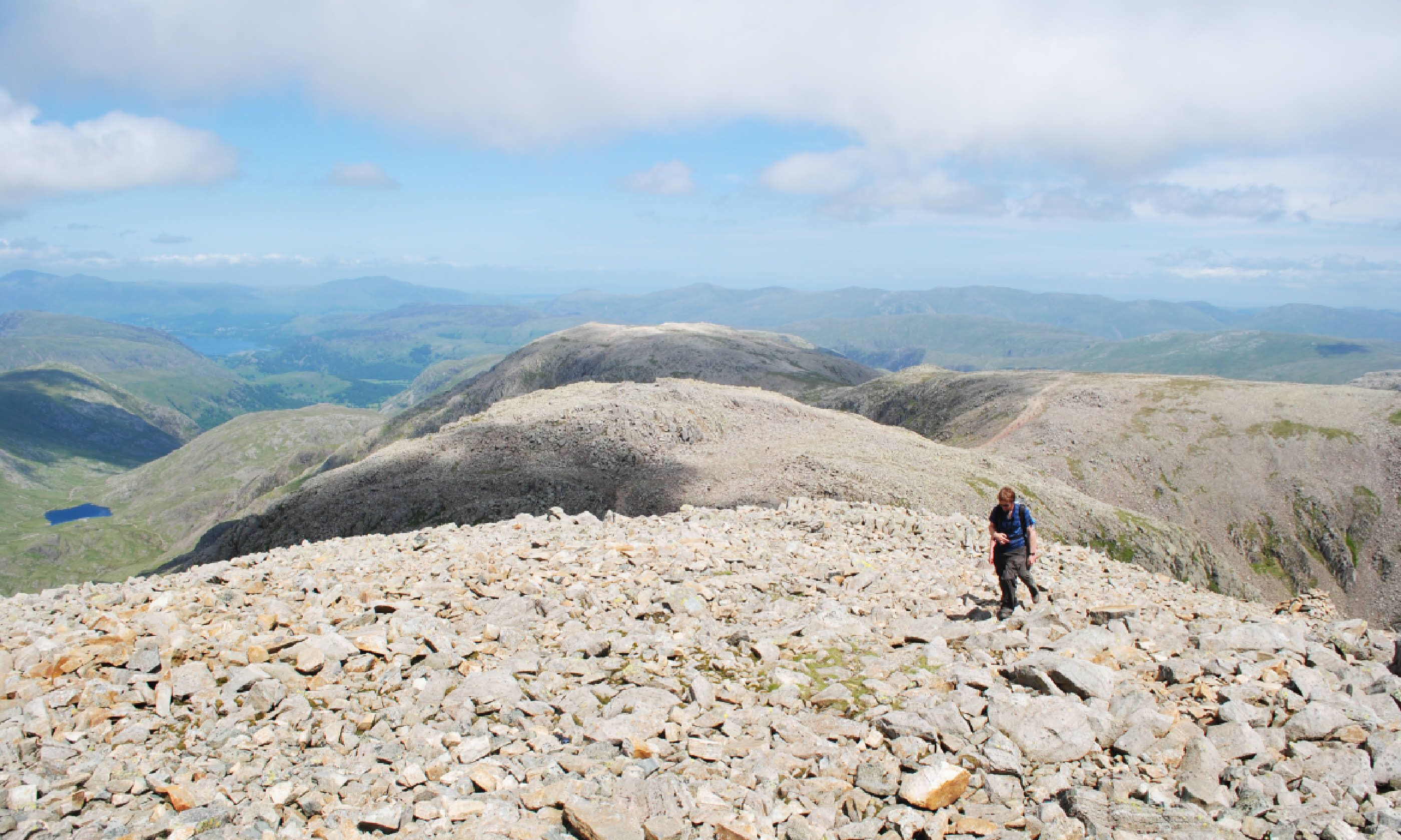 Scafell Pike summit (Alex Kendall)