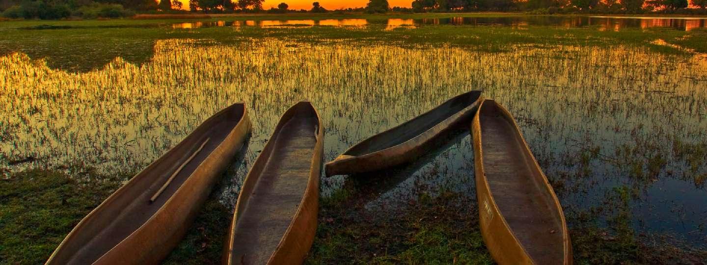 Sunrise over the Okavango Delta, Botswana (Shutterstock)