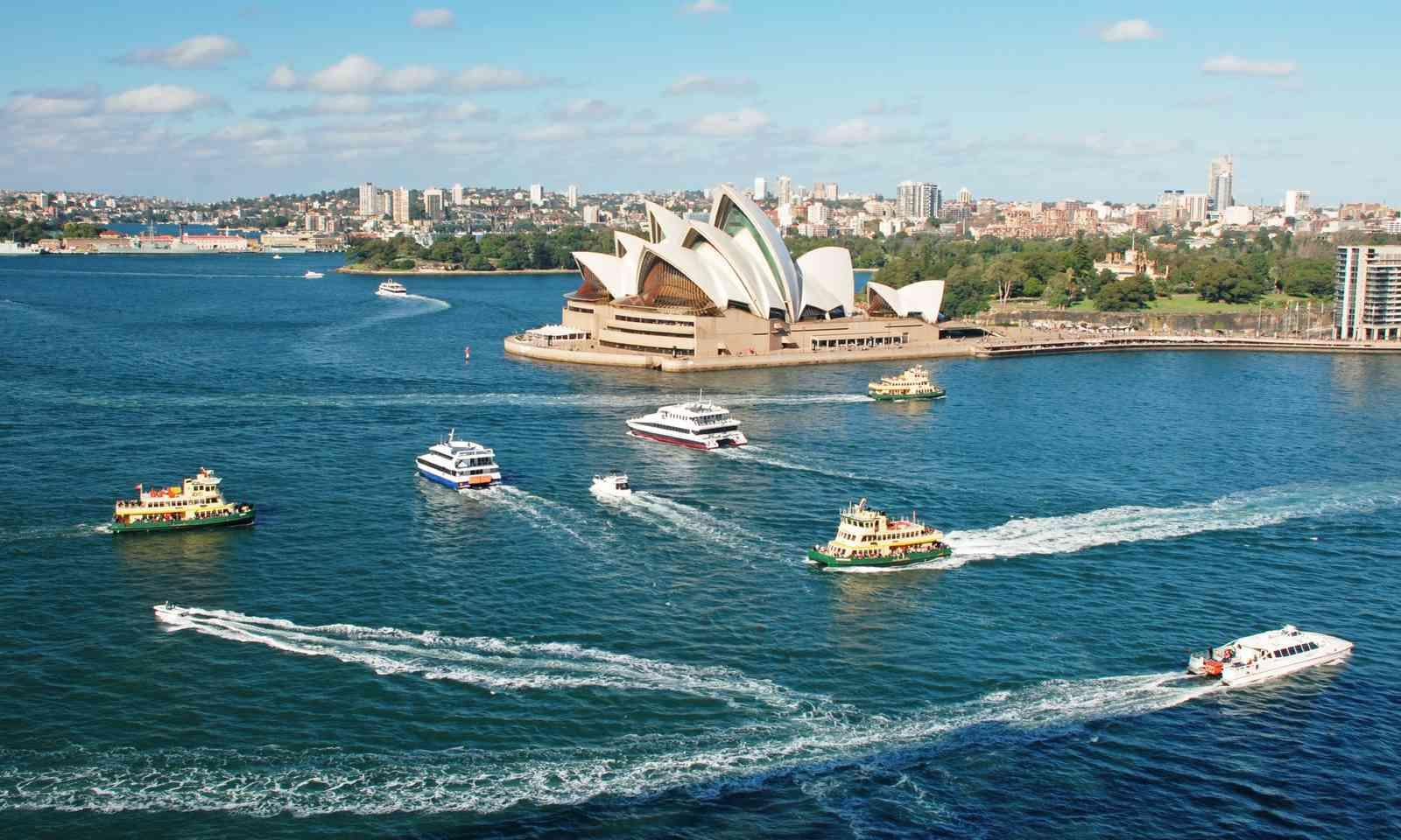 The Sydney Opera House (Dreamstime)