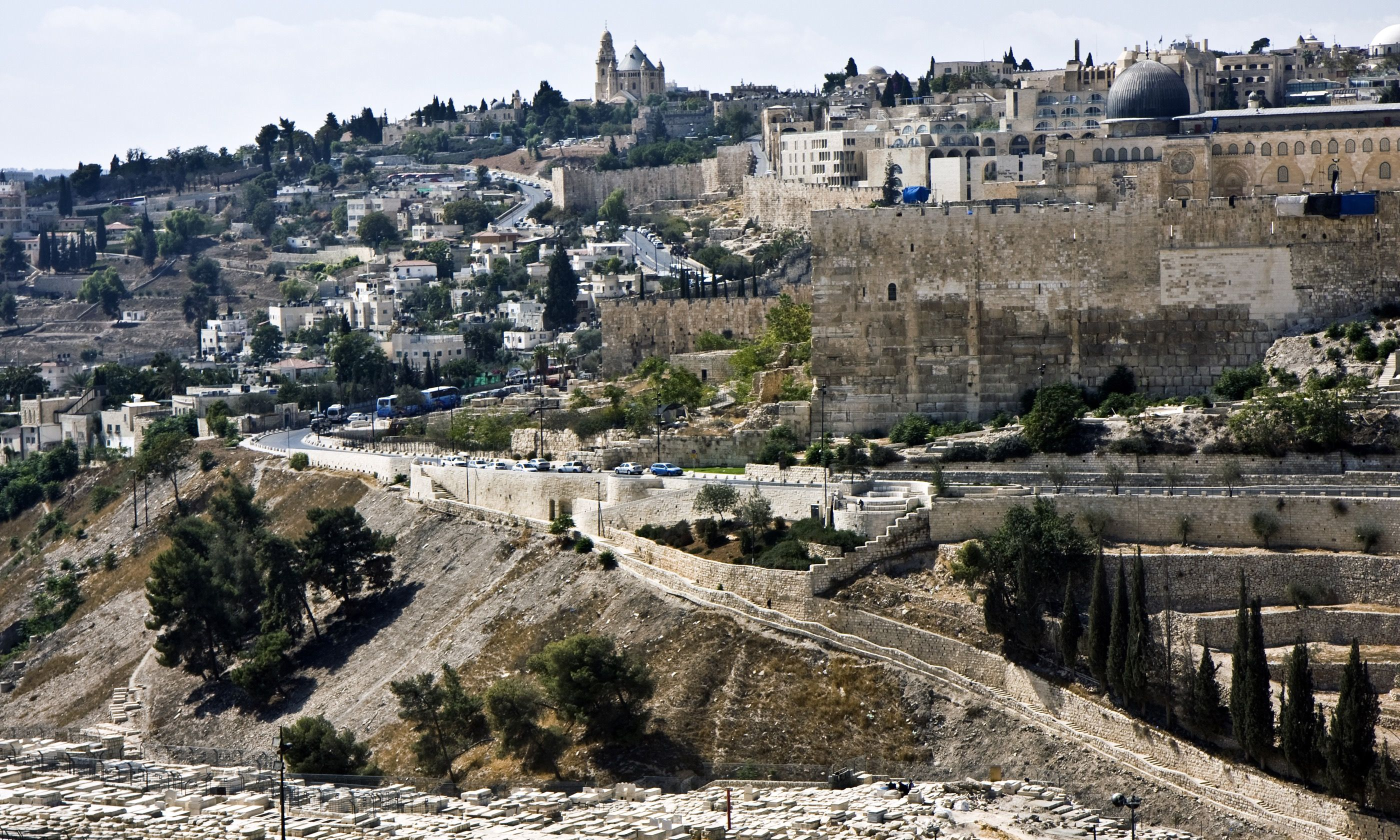 The walls of the Old City (Shutterstock.com)