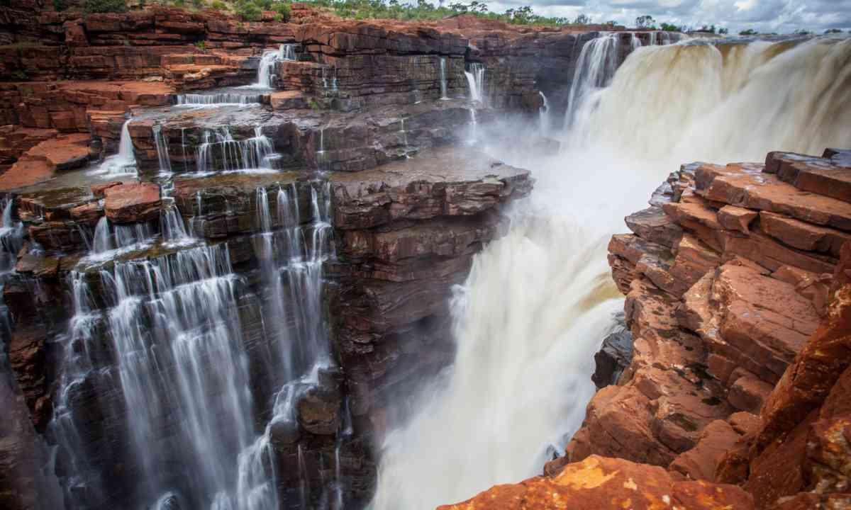 King George Falls (Dreamstime)