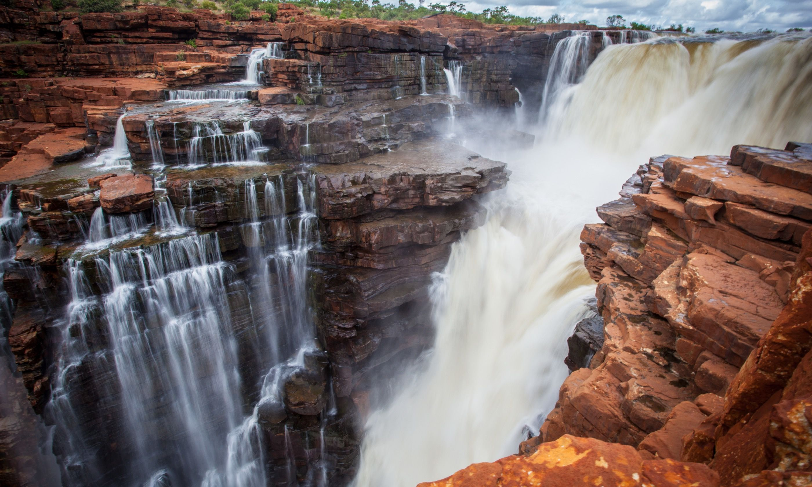 King George Falls (Dreamstime)