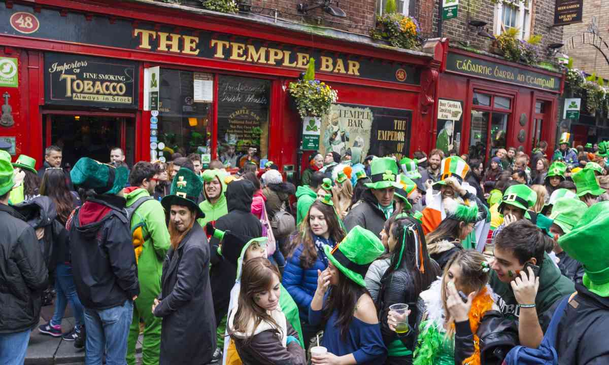 St Patrick's Day in Dublin (Shutterstock.com)