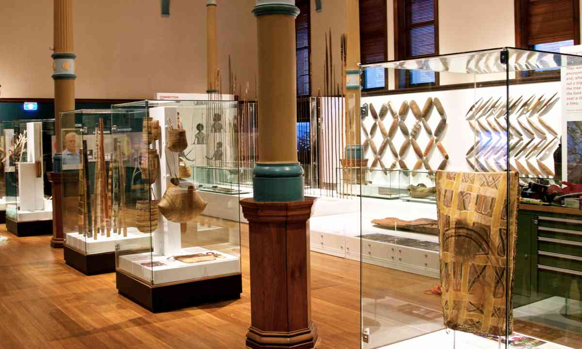 Indigenous gallery at the Australian Museum (Roy Weiland/Australian Museum)