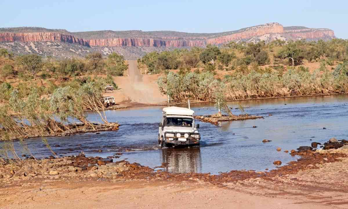 A 4x4 in the Kimberley (Dreamstime)