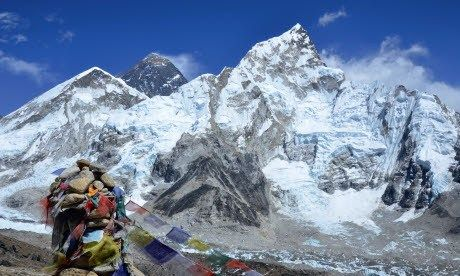 View of Everest from Base Camp (Neil S. Price)