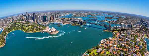 Aerial shot of Sydney (Dreamstime)