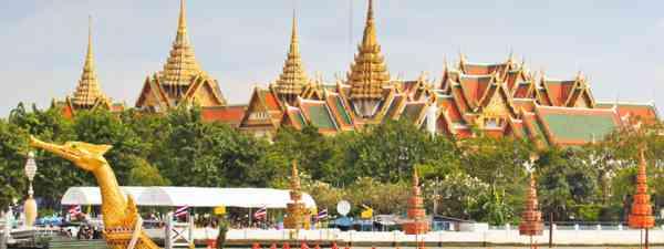 Grand Palace at the Chao Phraya, Bangkok (Shutterstock: see credit below)