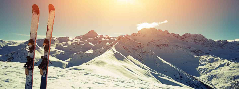 Skis in snow (Shutterstock: see credit below)