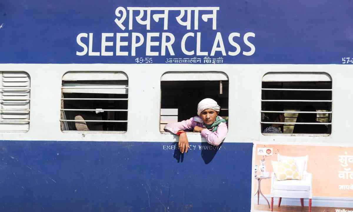 Sleeper carriage, India (Shutterstcok.com)